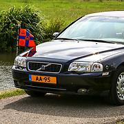 NLD/Oud Zuilen/20180609 - Prinses Beatrix verricht de openingshandeling van de Molen van de Polder Buitenweg, de AA-95 in de polder