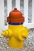 Fire hydrant water tap, Anna Maria Island, Florida