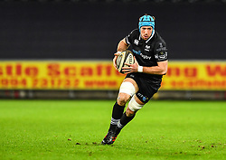 Ospreys' Justin Tipuric in action during todays match<br /> <br /> Photographer Craig Thomas/Replay Images<br /> <br /> Guinness PRO14 Round 18 - Ospreys v Leinster - Saturday 24th March 2018 - Liberty Stadium - Swansea<br /> <br /> World Copyright © Replay Images . All rights reserved. info@replayimages.co.uk - http://replayimages.co.uk
