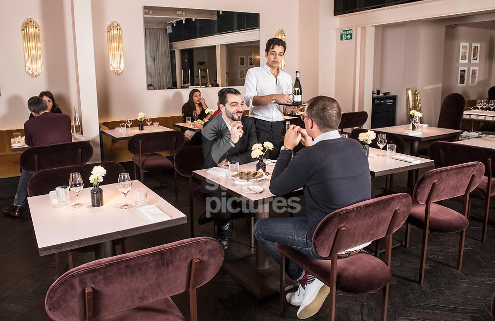 A general view of Serge et Le Phoque as part of restaurant review.<br /> Picture by Daniel Hambury/Stella Pictures Ltd 07813022858<br /> 02/10/2017