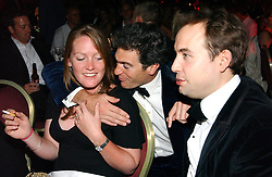 Left & centre EDWARD & LADY TAMARA VAN CUTSEM at the Boodles Boxing Ball in aid of the sports charity Sparks  organised by Jez lawson, James Amos and Charlie Gilkes held at The Royal Lancaster Hotel, Lancaster Terrae London W2 on 3rd June 2006.<br /> <br /> NON EXCLUSIVE - WORLD RIGHTS