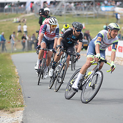 WIJSTER (NED) June 20: <br /> CYCLING <br /> Dutch Nationals Road Men up and around the Col du VAM<br /> Taco Van Der Hoorn<br /> Joris Nieuwenhuis (Netherlands / Team DSM)<br /> Koen de Kort