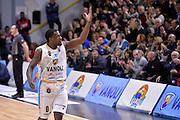 Darius Johnson Odom<br /> Vanoli Cremona - Fiat Auxilium Torino<br /> Lega Basket Serie A 2016/2017<br /> Cremona, 12/02/2017<br /> Foto Ciamillo-Castoria