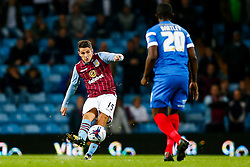 Ashley Westwood of Aston Villa in action - Photo mandatory by-line: Rogan Thomson/JMP - 07966 386802 - 27/08/2014 - SPORT - FOOTBALL - Villa Park, Birmingham - Aston Villa v Leyton Orient - Capital One Cup Round 2.