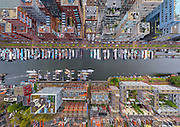 Cities and Landscapes captured from a Birds eye view with stunning results...<br /> <br /> A group of Russian photographers and specialists by the name of AirPano, have teamed up to capture amazing panoramic, bird's-eye views photos. <br /> <br /> AirPano travel the world to shoot some of the world's most beautiful locations from above. The team usually photograph on a helicopter, but they also shoot from an airplane, a dirigible, a hot air balloon and a radio-controlled helicopter. <br /> <br /> The images are then available for the public to view on their website, and using AirPano's special viewer, you can view the photos in 360-degree displays.<br /> <br /> Photo shows: Westerdok Disctrict, Holland<br /> ©Exclusivepix Media