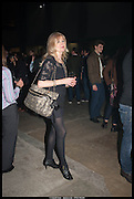 DEBBIE MOORE, Mission 10th Anniversary party. The Turbine Hall, Tate Modern. London. 12 March 2014.