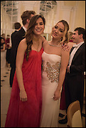 SALLY CACTUS;   ANDREA SISKO, Oxford University Polo club Ball, Blenheim Palace. Woodstock. 6 March 2015