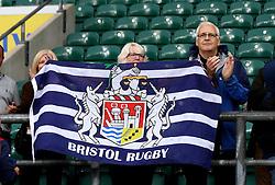 Bristol Rugby fans at Twickenham for the Aviva Premiership London Double Header - Mandatory by-line: Robbie Stephenson/JMP - 03/09/2016 - RUGBY - Twickenham - London, England - Harlequins v Bristol Rugby - Aviva Premiership London Double Header