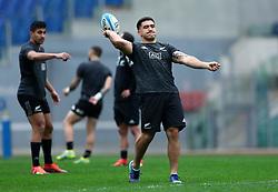 November 23, 2018 - Rome, Italy - Rugby All Blacks captains run - Cattolica Test Match.Codie Taylor at Olimpico Stadium in Rome, Italy on November 23, 2018. (Credit Image: © Matteo Ciambelli/NurPhoto via ZUMA Press)