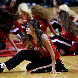 March 10, 2011; Miami, FL, USA; Miami Heat dancers rehearse prior to tip of a game against the Los Angeles Lakers at the American Airlines Arena.    Mandatory Credit: Derick E. Hingle