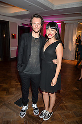 MELISSA HEMSLEY and HENRY RELPH at the 2016 Fortnum & Mason Food & Drink Awards held at Fortnum & Mason, Piccadilly, London on 12th May 2016.