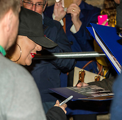Pictured: <br /> Star of West End smash hits including Legally Blonde and Funny Girl, Sheridan Smith was in Edinburgh tonight as part of her tour to promote her new album, Sheridan, which was released on 3 November last year.  The Edinburgh Playhouse was the second last date on the tour.  Her time in the Playhouse was disrupted when a fire alarm went off in the afternoon.  Not the best way to relax before a gig.<br /> <br /> Ger Harley | EEm 26 April 2018
