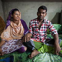 Shajanaj and Muhammed Hanif live with their family in the Outfall Slum in Dhaka, Bangladesh. North American aid group World Renew supports them through local organisation SATHI.