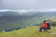 View over Upper Ennerdale and Black Sail