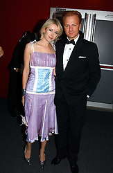 "PRINCE VALERIO MASSIMO and MISS ANTONIA HEDLEY-DENT at the 10th annual British Red Cross London Ball.  This years ball theme was Indian based - ""Yaksha - Yakshi: Doorkeepers to the Divine"" and was held at The Room, Upper Ground, London on 1st December 2004.  Proceeds from the ball will aid vital humanitarian work, including HIV/AIDS projects that the Red Cross supports in the UK and overseas.<br />