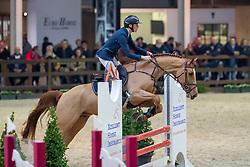 Kairis Thomas, BEL, Qupido H<br /> Pavo Hengstencompetitie<br /> Azelhof Lier 2020<br /> © Hippo Foto - Dirk Caremans