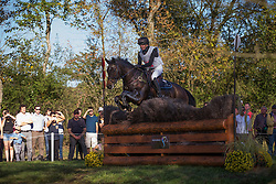 Siemer Anna (GER) - Chloe 21<br /> Cross country 7 years old horses<br /> Mondial du Lion - Le Lion d'Angers 2014<br /> © Dirk Caremans<br /> 18/10/14