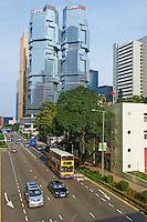 Chine, Hong Kong, Hong Kong Island, Cotton Tree drive // China, Hong-Kong, Hong Kong Island, Cotton Tree drive