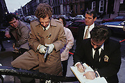 (1992) The New York Crime Scene Unit responds to an incident in Brooklyn, examining the evidence of a grocery store robbery and get-away in a stolen car which escalated into a shootout with the police. One policeman died of a heart attack. DNA Fingerprinting.