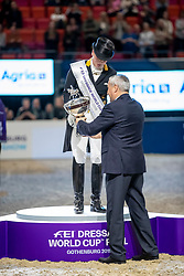 Werth Isabell, GER<br /> LONGINES FEI World Cup™ Finals Gothenburg 2019<br /> © Hippo Foto - Stefan Lafrentz<br /> 06/04/2019