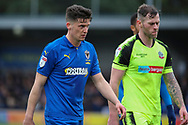 AFC Wimbledon midfielder Callum Reilly (33) walking off the pitch during the EFL Sky Bet League 1 match between AFC Wimbledon and Bolton Wanderers at the Cherry Red Records Stadium, Kingston, England on 7 March 2020.