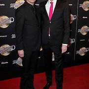 NLD/Amsterdam/20120217 - Premiere Saturday Night Fever, Maurice Wijnen en partner Ronald den Ouden