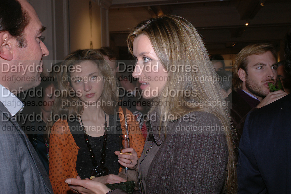 ALBA ARIKHA; and Natasha  McElhone. A photo exhibition in support of Facing the World <br /> Hosts: Christopher Bailey with Eliane Fattal, Yasmin Mills, Emily Oppenheimer Turner, Catherine Prevost and Elizabeth Saltzman Walker.  Burberry, 18 - 22 Haymarket, SW1  .  9 November 2005. ONE TIME USE ONLY - DO NOT ARCHIVE © Copyright Photograph by Dafydd Jones 66 Stockwell Park Rd. London SW9 0DA Tel 020 7733 0108 www.dafjones.com