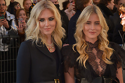Chiara Ferragni and sister Valentina Ferragni arriving at the Dior Haute Couture Spring/Summer 2019-2020 show as part of Paris Fashion Week on January 21, 2019 in Paris, France. Photo by Julien Reynaud/APS-Medias/ABACAPRESS.COM
