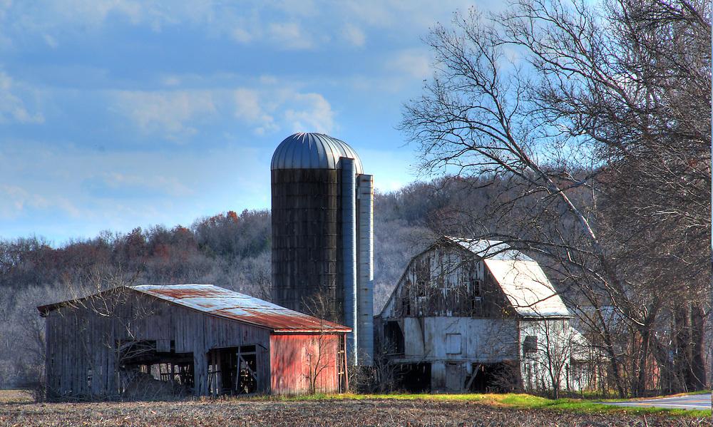 On Highway F near Defiance Missouri