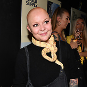 Gail Porter attend Press night an halloween experience at  London Tombs at The London Bridge Experience, UK. 18 October 2018.