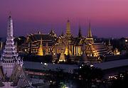 Wat Phra Kaew - Temple of the Emerald Buddha. Royal Palace, Bangkok
