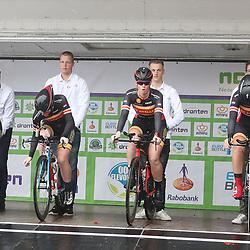 30-09-2017: Wielrennen: Nederlands kampioenschap clubteams: Dronten <br />De Adelaar