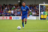 AFC Wimbledon defender Terell Thomas (6) dribbling during the EFL Sky Bet League 1 match between AFC Wimbledon and Accrington Stanley at the Cherry Red Records Stadium, Kingston, England on 17 August 2019.