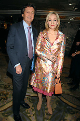 LORD BRAGG and J K ROWLING at the South Bank Show Awards held at The Dorchester, Park Lane, London on 29th January 2008.<br />