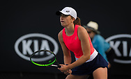 Iga Swiatek of Poland in action during her second round match at the 2020 Australian Open, WTA Grand Slam tennis tournament on January 23, 2020 at Melbourne Park in Melbourne, Australia - Photo Rob Prange / Spain ProSportsImages / DPPI / ProSportsImages / DPPI
