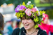 The 2014 Glastonbury Festival, Worthy Farm, Glastonbury. 26 June 2013.