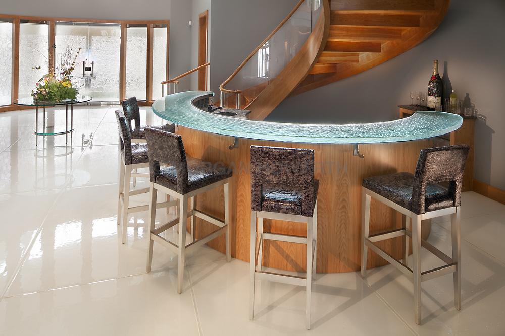 143_W_Landing glass bar by Nathan Allan Glass Studios Inc