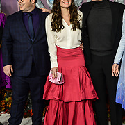 Josh Gad, Idina Menzel, Jonathan Groff attend European Premiere of Frozen 2 on 17 November 2019, BFI Southbank, London, UK.