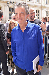 Jack Lang arriving at the Jean-Paul Gaultier show during Haute Couture Paris Fashion Week Fall/Winter 2018/19 in Paris, France on July 04, 2018. Photo by Julien Reynaud/APS-Medias/ABACAPRESS.COM