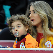 Galatasaray's Supporters fans during their Turkish Super League soccer match Galatasaray between MP Antalyaspor at the TT Arena Stadium at Seyrantepe in Istanbul Turkey on Sunday 10 February 2013. Photo by TURKPIX