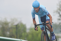 September 15, 2017 - Chenghu City, United States - Peeter Pruus from Rietumu Banka-Riga team during the fourth stage of the 2017 Tour of China 1, the 3.3 km Chenghu Jintang individual time trial. .On Friday, 15 September 2017, in Jintang County, Chenghu City,  Sichuan Province, China. (Credit Image: © Artur Widak/NurPhoto via ZUMA Press)