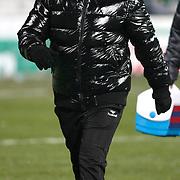 Mersin idman Yurdu's coach Nurullah Saglam during their Turkish superleague soccer match Besiktas between Mersin idman Yurdu at BJK Inonu Stadium in Istanbul Turkey on Thursday, 02 February 2012. Photo by TURKPIX