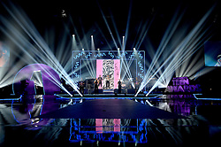 Jess Glynne on stage at the BBC Radio 1 Teen Awards, held at the SSE Wembley Arena, London.<br /> <br /> Picture date: Sunday, 23 October, 2016. Photo credit should: Doug PetersEMPICS Entertainment