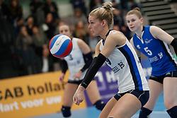 20180331 NED: Eredivisie Sliedrecht Sport - Regio Zwolle, Sliedrecht <br />Carlijn Oosterlaken (9) of Sliedrecht Sport <br />©2018-FotoHoogendoorn.nl / Pim Waslander