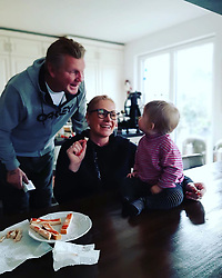 """Claudia Effenberg releases a photo on Instagram with the following caption: """"Wir lieben Dich!"""". Photo Credit: Instagram *** No USA Distribution *** For Editorial Use Only *** Not to be Published in Books or Photo Books ***  Please note: Fees charged by the agency are for the agency's services only, and do not, nor are they intended to, convey to the user any ownership of Copyright or License in the material. The agency does not claim any ownership including but not limited to Copyright or License in the attached material. By publishing this material you expressly agree to indemnify and to hold the agency and its directors, shareholders and employees harmless from any loss, claims, damages, demands, expenses (including legal fees), or any causes of action or allegation against the agency arising out of or connected in any way with publication of the material."""