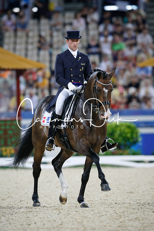 Boblet Marc (FRA) -  Whitni Star<br /> Olympic Games Hong Kong 2008<br /> Photo © Dirk Caremans - Hippo Foto