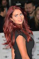 Amy Childs, MOBO Awards, SSE Arena Wembley, London UK, 22 October 2014, Photo by Richard Goldschmidt