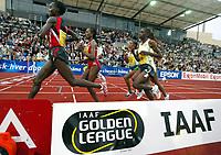 Friidrett , 02. juni 2006 , Golden League , Bislett Games<br /> illustrasjon løping , løpere , tribune , tribuner