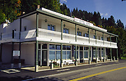 Historic Hope Hotel on east side of Lake Pend Oreille; Hope, Idaho