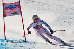 05.03.2011, Pista di Prampero, Tarvis, ITA, FIS Weltcup Ski Alpin, Abfahrt der Damen, im Bild Aurelie Revillet (FRA) // Aurelie Revillet (FRA) during Ladie's Downhill FIS World Cup Alpin Ski in Tarvisio Italy on 5/3/2011. EXPA Pictures © 2011, PhotoCredit: EXPA/ J. Groder
